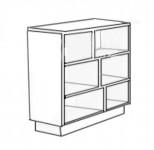 Шкаф нижний торцевой (200x840x554) ШНТ200 Модена
