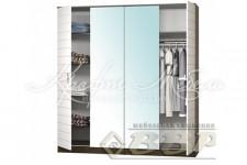 Шкаф с 4-мя створками c зеркалом Афина ВВР
