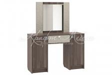 Столик туалетный СТ4 ПВХ (1480*1200*400) (с зеркалом) Аврора